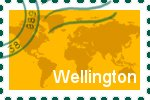 Briefmarke der Stadt Wellington