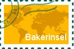 Briefmarke der Bakerinsel