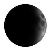 Mond in zunehmender Mondphase